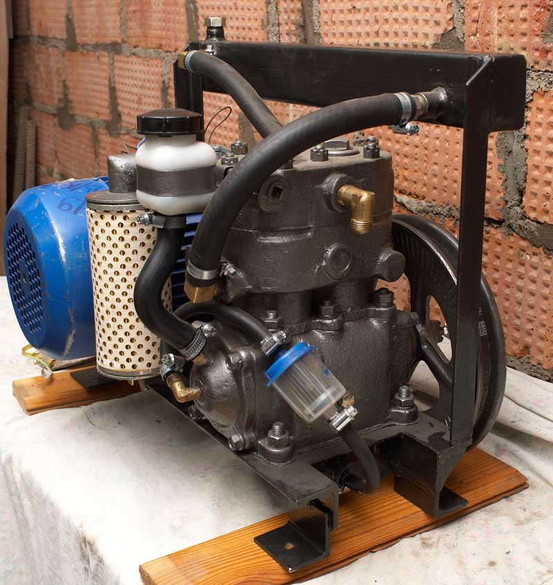 Воздушный компрессор своими руками камаз 97
