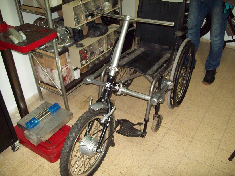 Электропривод коляски своими руками 705