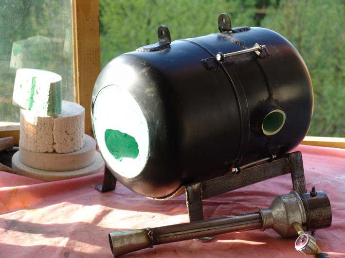 Горелка для газового горна своими руками фото7