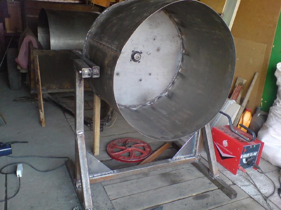 Переделка бетономешалка своими руками