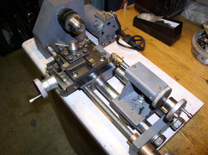 Как сделать маленький токарный 39