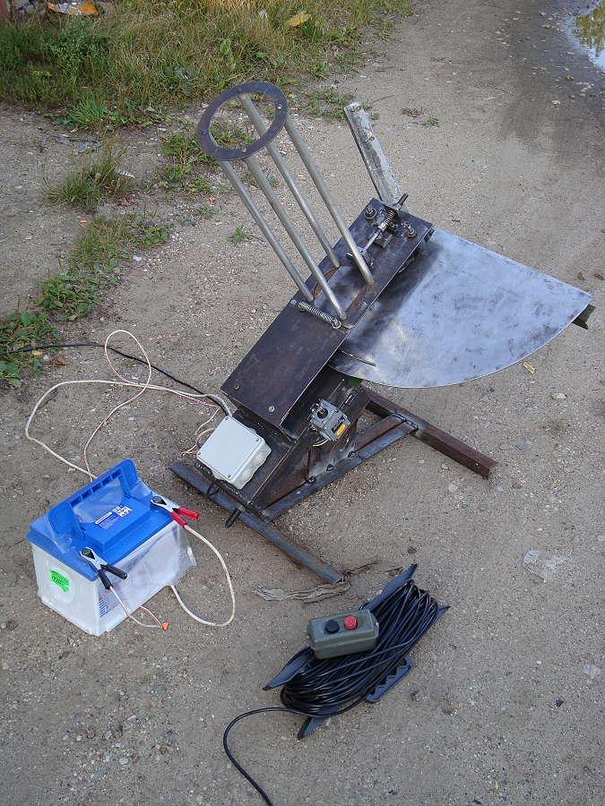 Метательная машинка чертеж