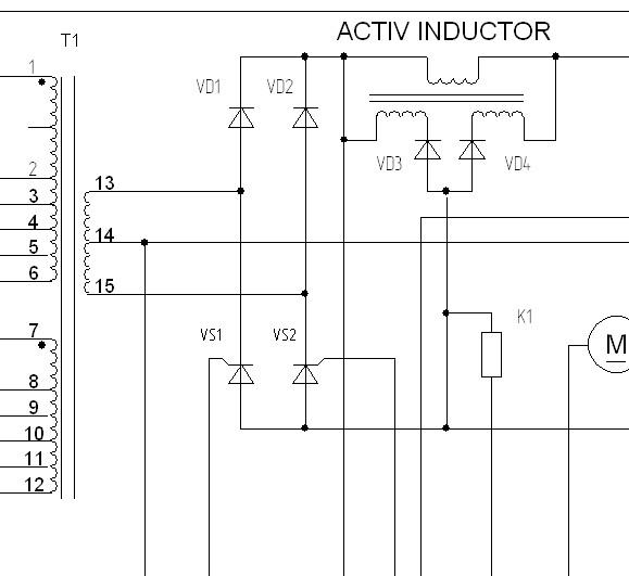 сварочный полуавтомат ПДГ-401 Схема электрическая принципиальная