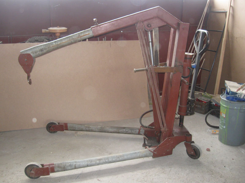 Подъемник для двигателя своими руками фото 93