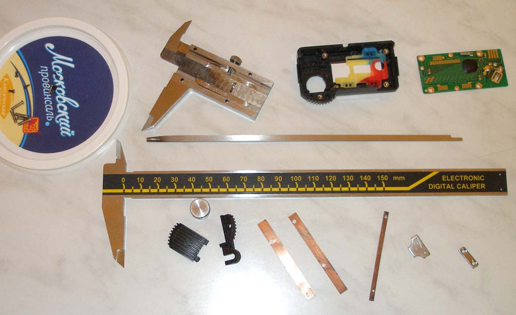 Электронный штангенциркуль ремонт своими руками