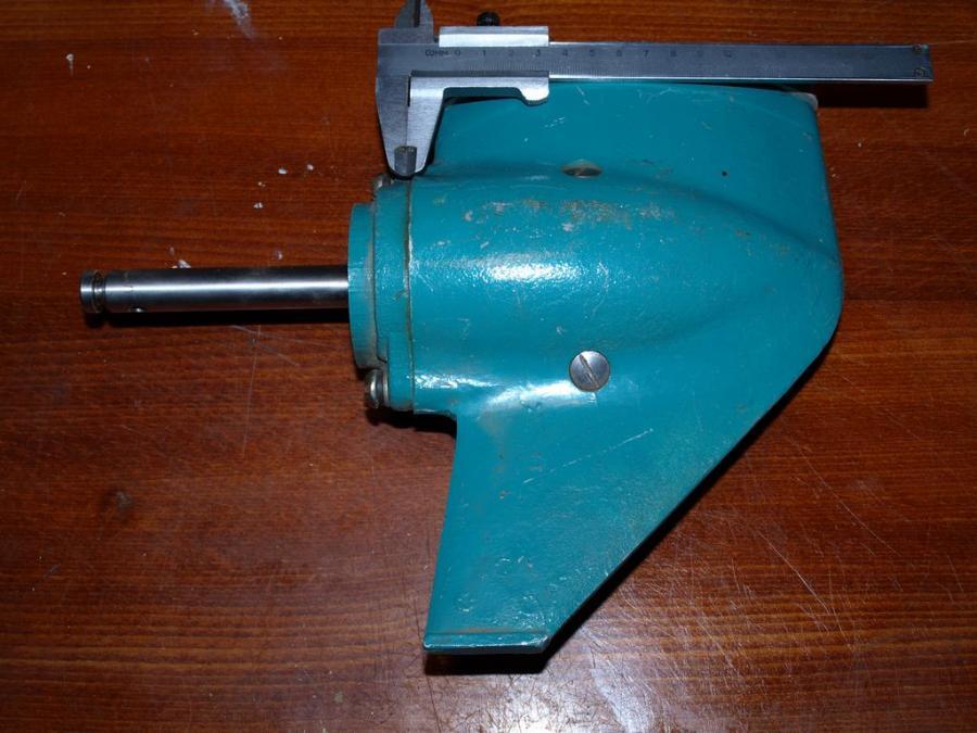 Угловой редуктор своими руками для лодочного мотора