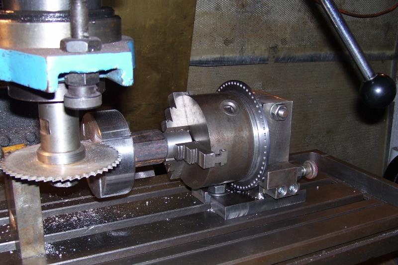 Делительная головка для токарного станка