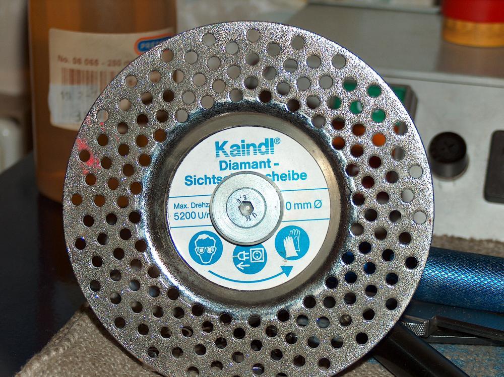 Как сделать алмазный диск