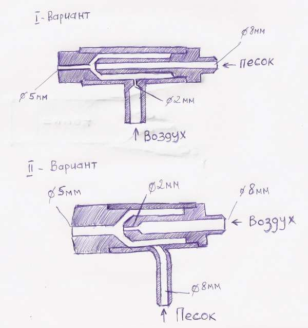Как сделать гидропескоструй своими руками