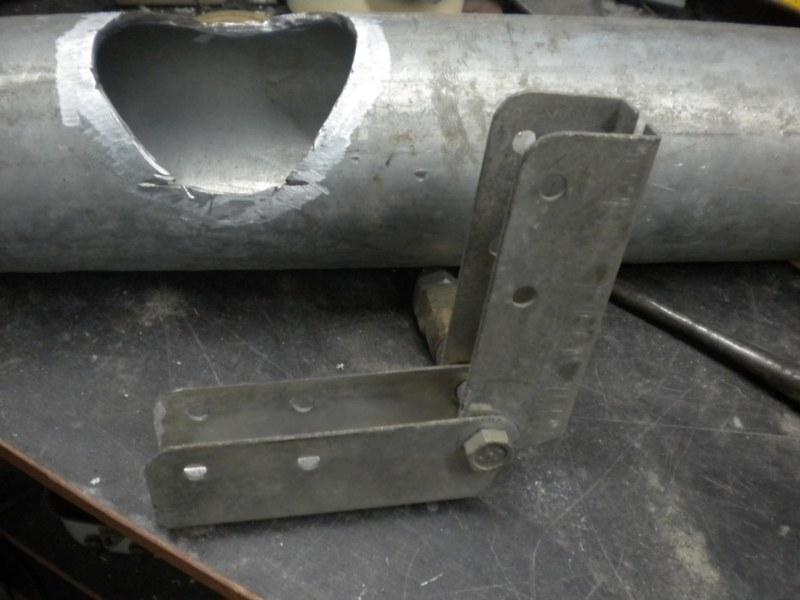 Печь на отработке из трубы