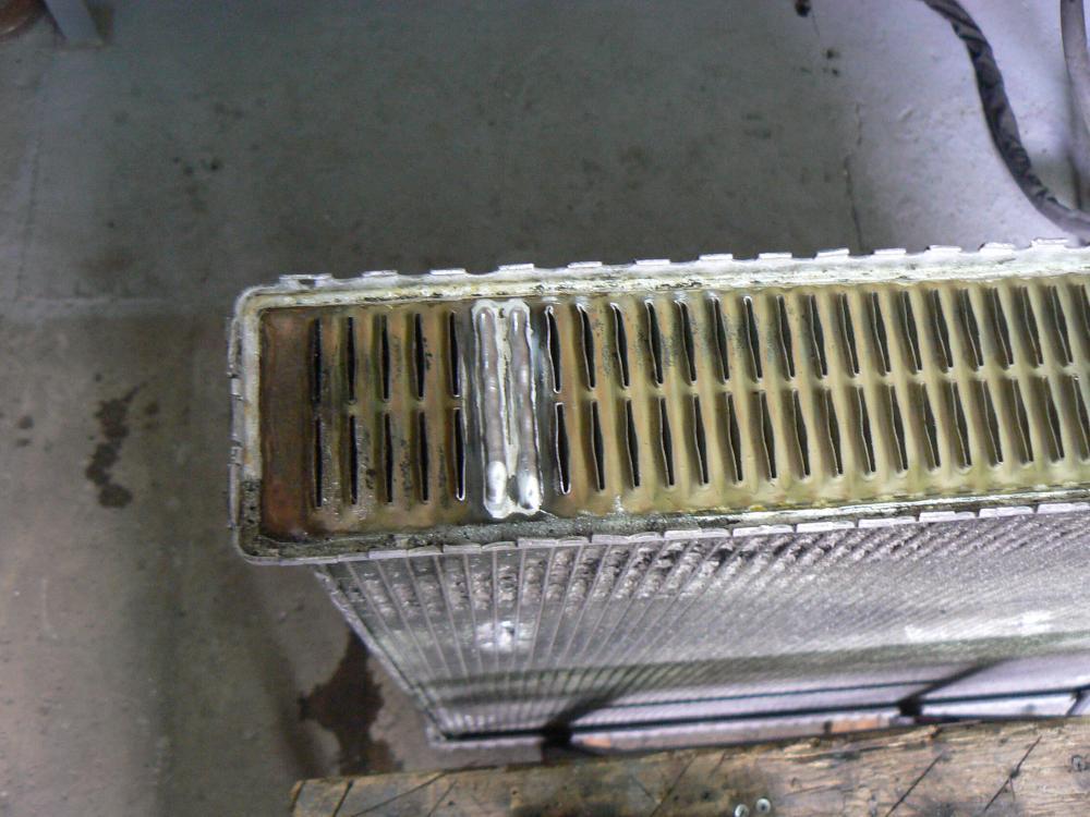 Алюминиевый радиатор охлаждения своими руками