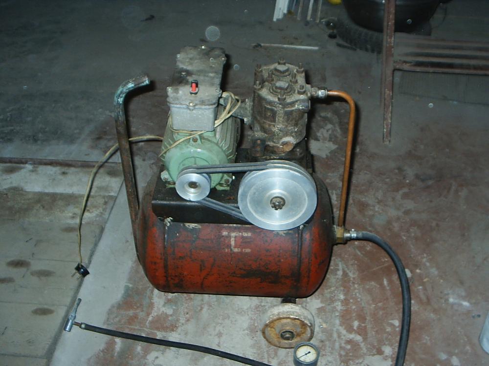 Воздушный компрессор своими руками камаз 92