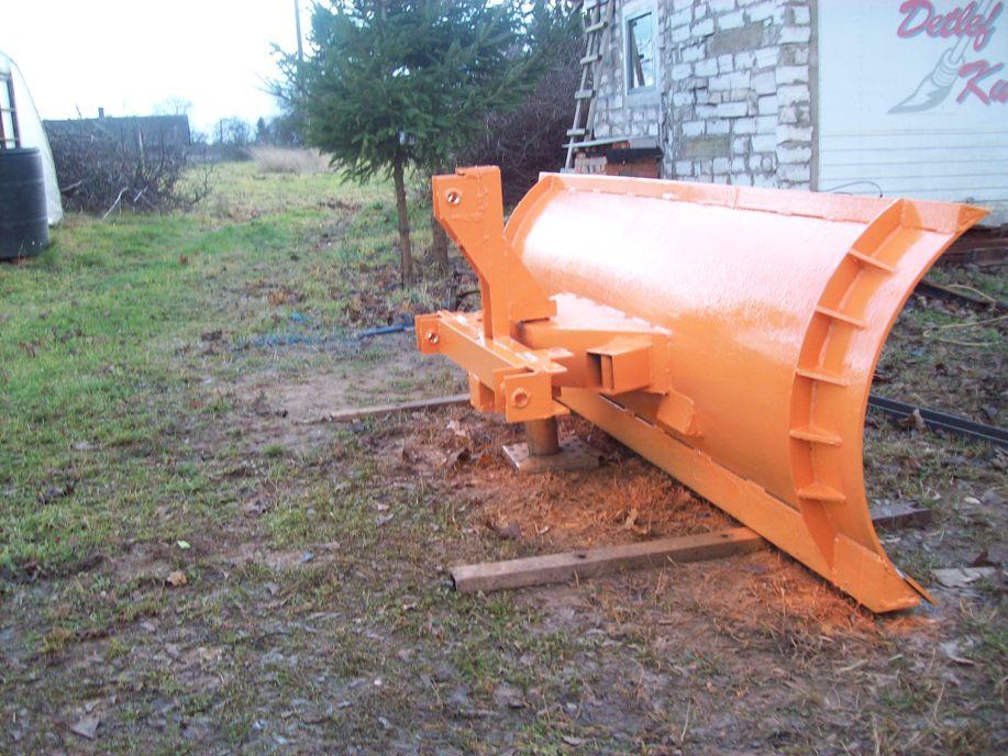 Лопата для снега своими руками для трактора