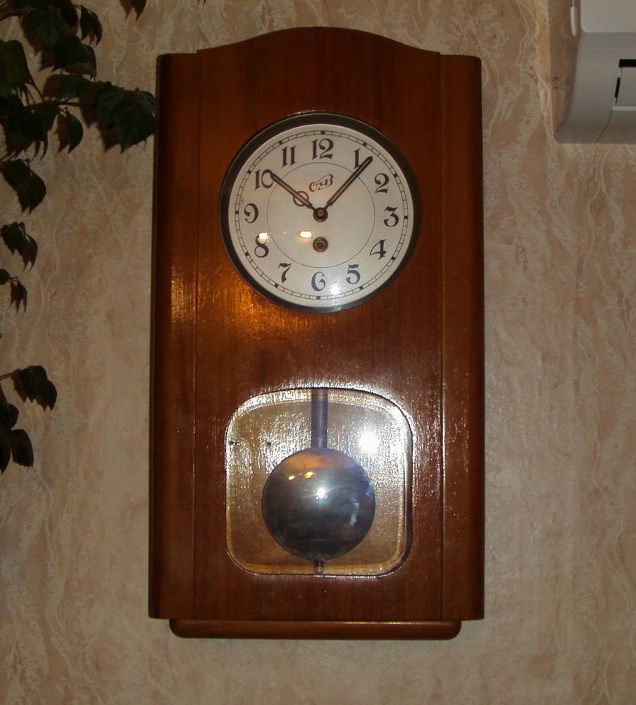 Настенные часы своими руками с боем 34