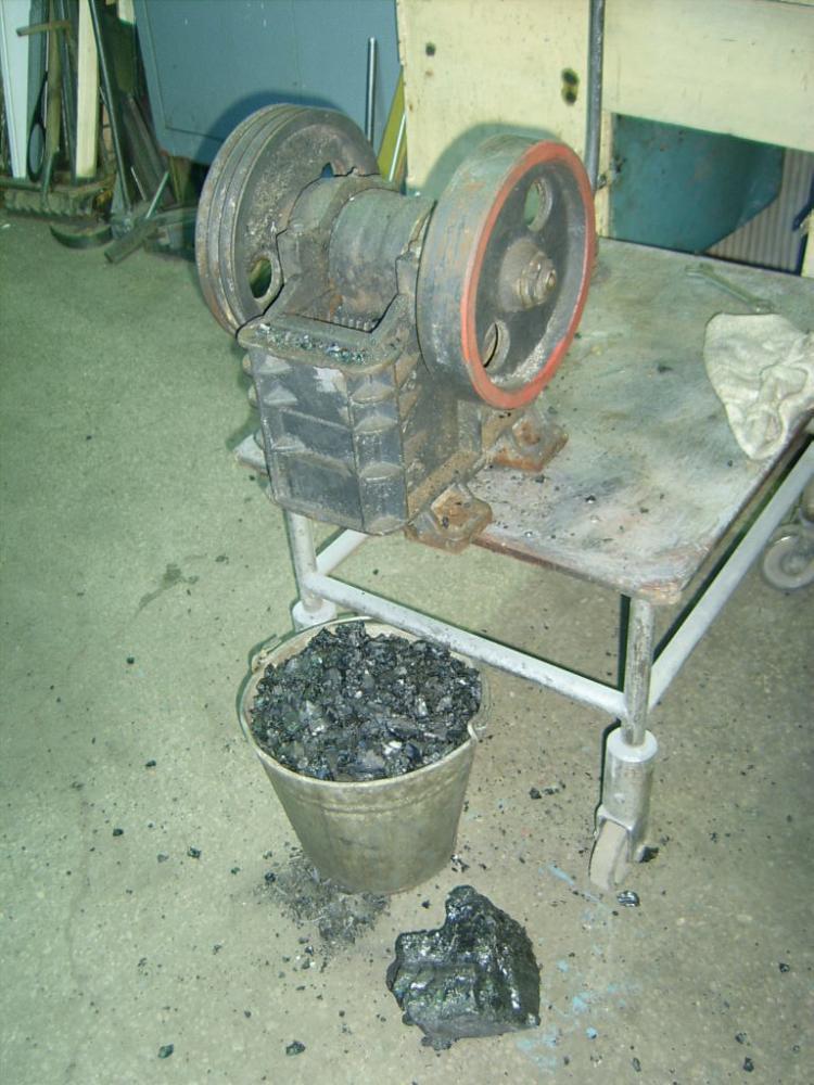 Угольные дробилки своими руками