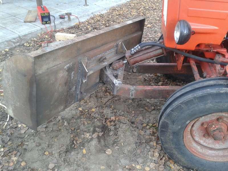 Лопата для трактора своими руками