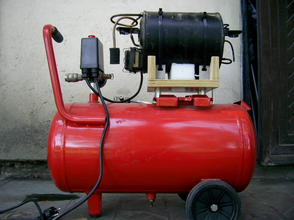 Как сделать газовый компрессор своими руками 541
