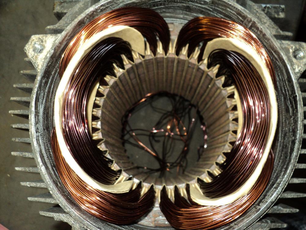 Перемотка однофазных двигателей своими руками