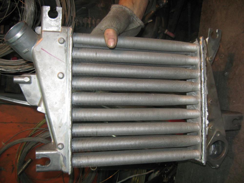 Интеркулер из радиатора