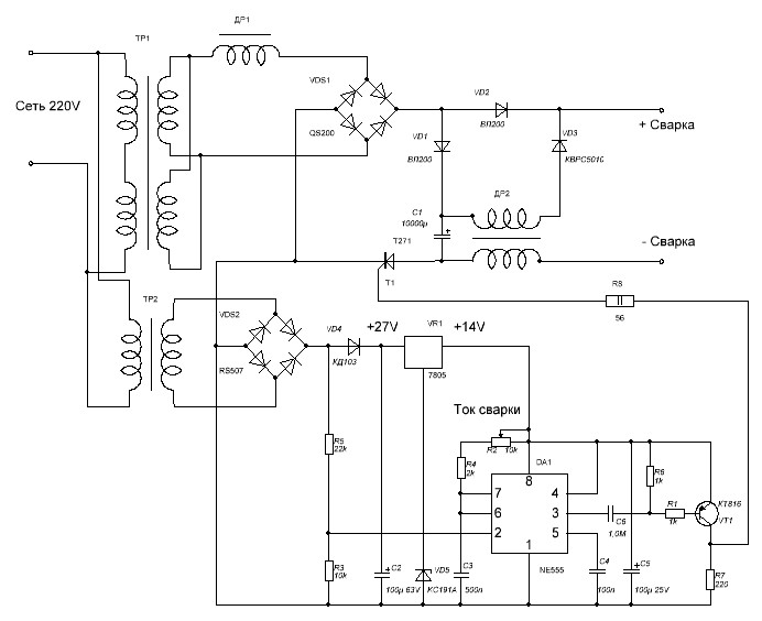 Схема протяжки полуавтомата своими руками 80