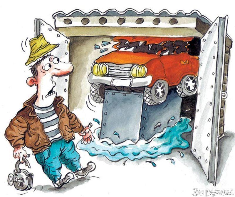 Как сделать кессон для гаража