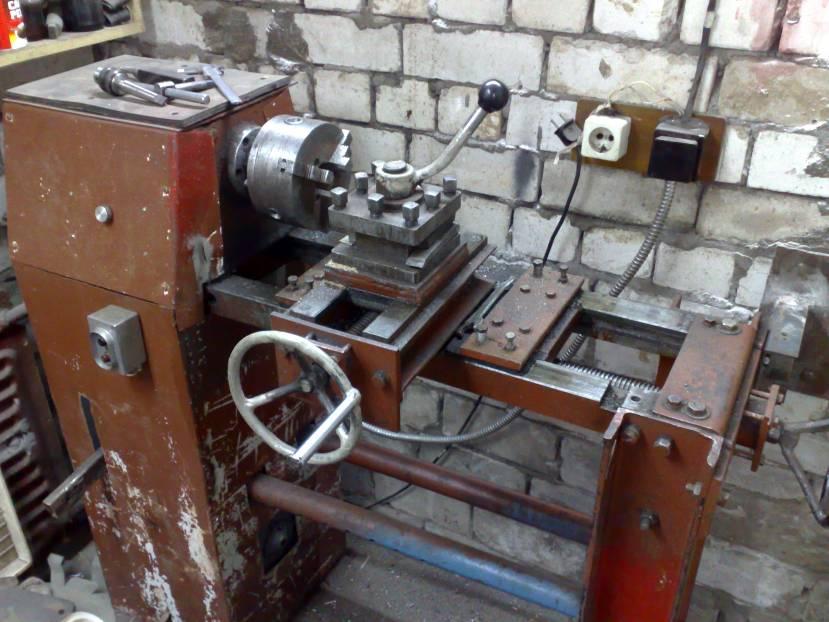 Самодельные токарные станки по металлу своими руками