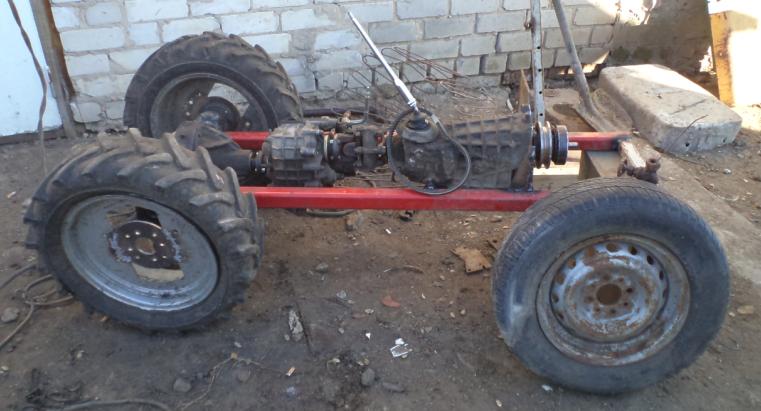 Рама для трактора своими руками