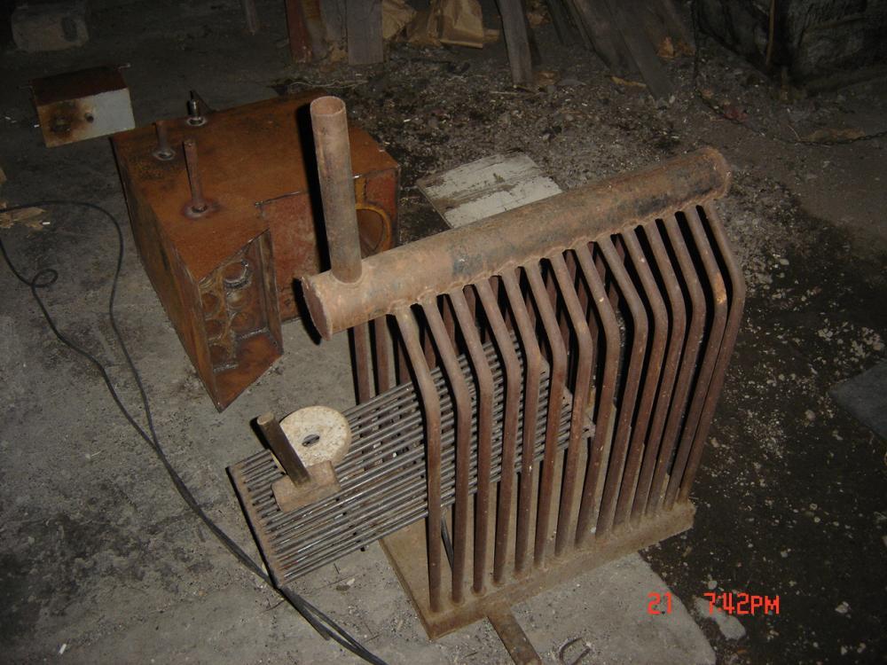 Печь-котел для отопления дома своими руками 81
