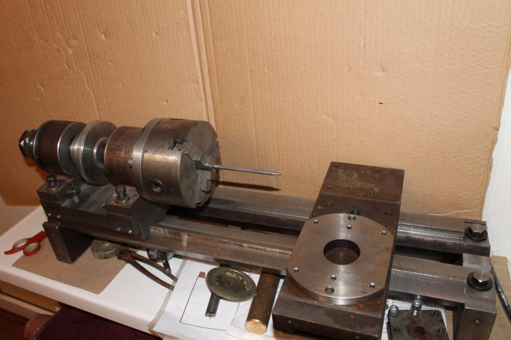 Самодельный токарного станка по металлу