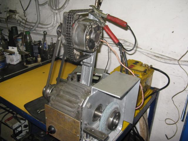 Стенд для проверки стартеров и генераторов своими руками 65