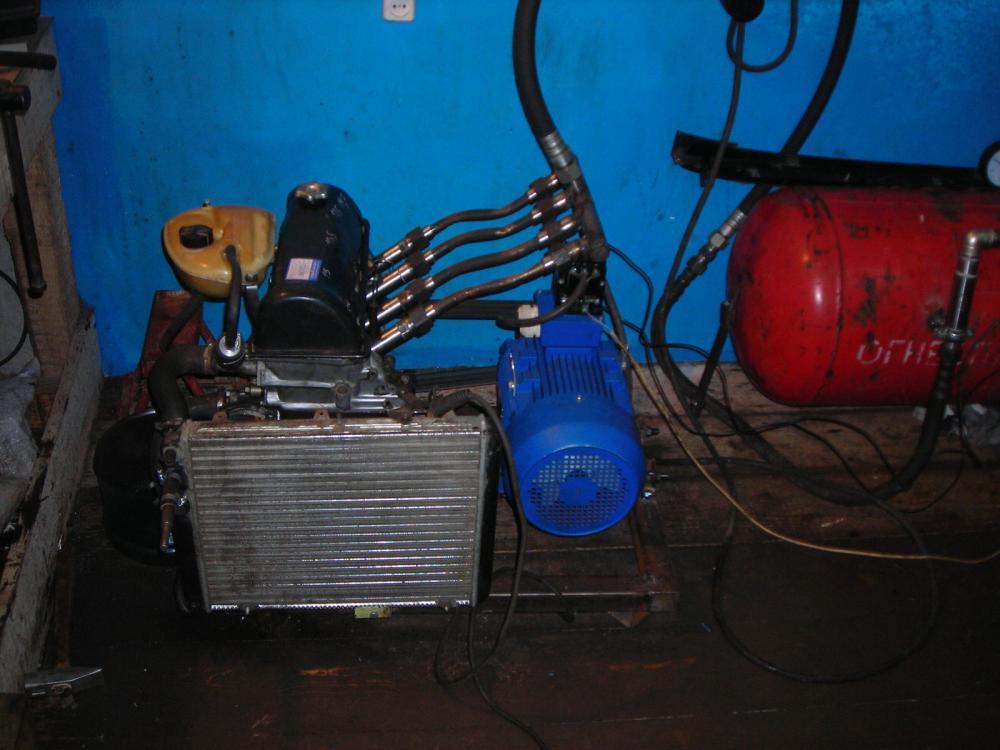 Самодельный компрессор из мотора