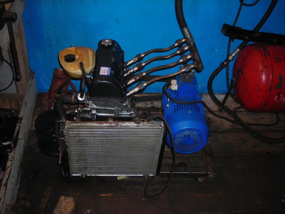 Самодельный компрессор из двс своими руками