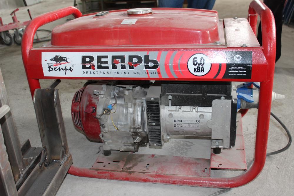 Бензиновый генератор на газу