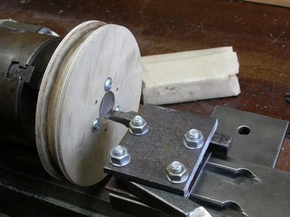Шкивы из фанеры и прочие способы ремонта станков на коленке - Металлический форум