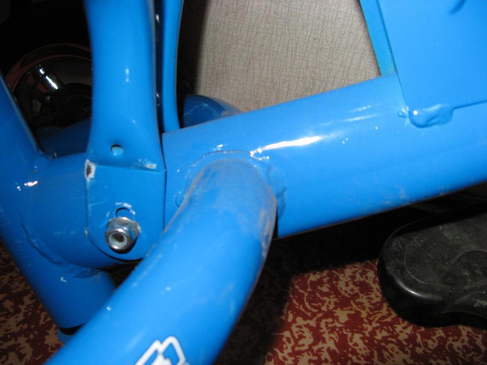 Ремонт детского велосипеда