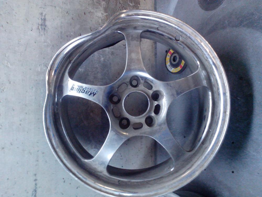 Как выпрямить диск колеса124