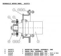 Полностью гидравлический минитрактор: Motor.jpg