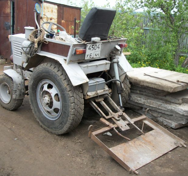 Балканкар самодельный трактор