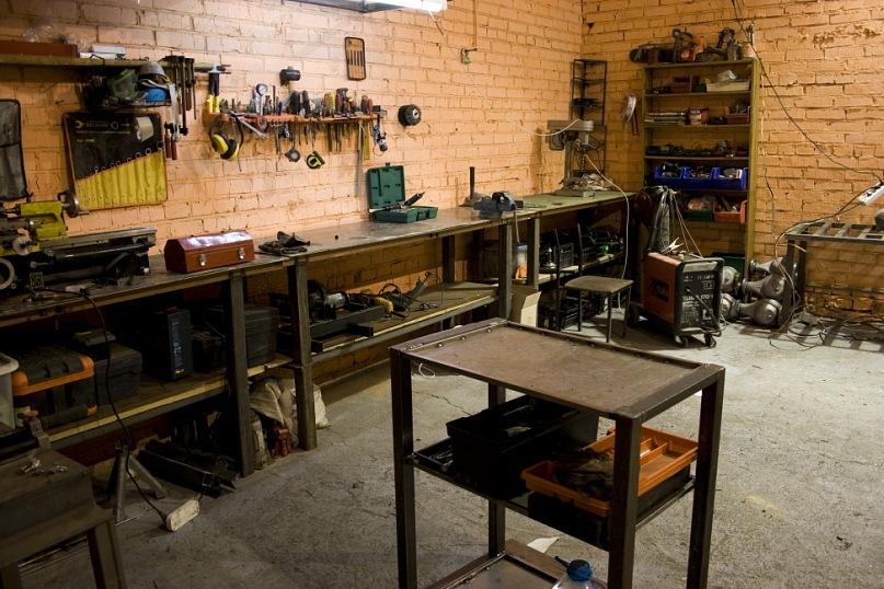Оборудования мастерской своими руками