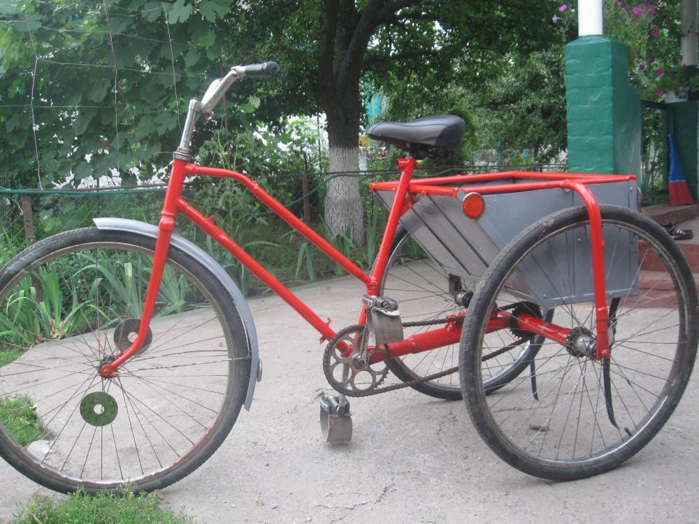 Как сделать трехколесный велосипед своими 71