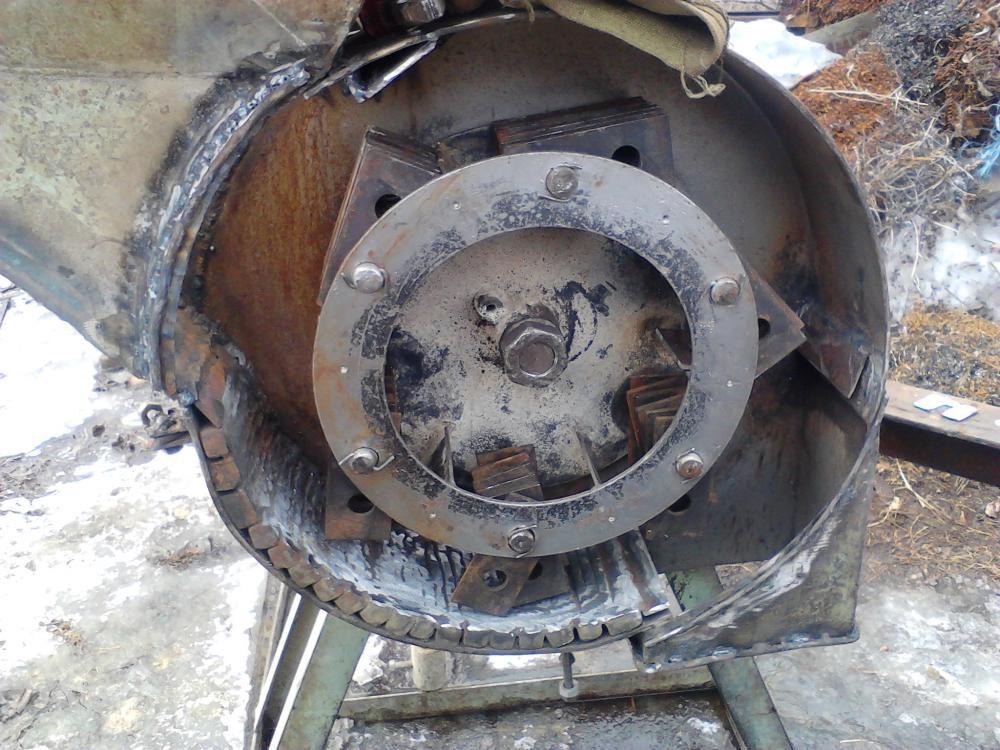 Дку зернодробилка своими руками видео