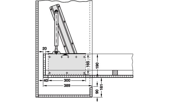Механизмы для откидных кроватей своими руками