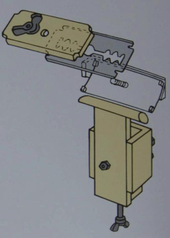 Брусовочная машина для спускания края кожи своими руками
