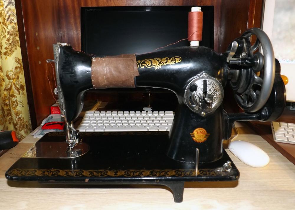 Вышивка на подольской швейной машине 54