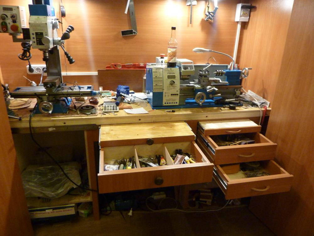шкаф-мастерская фото