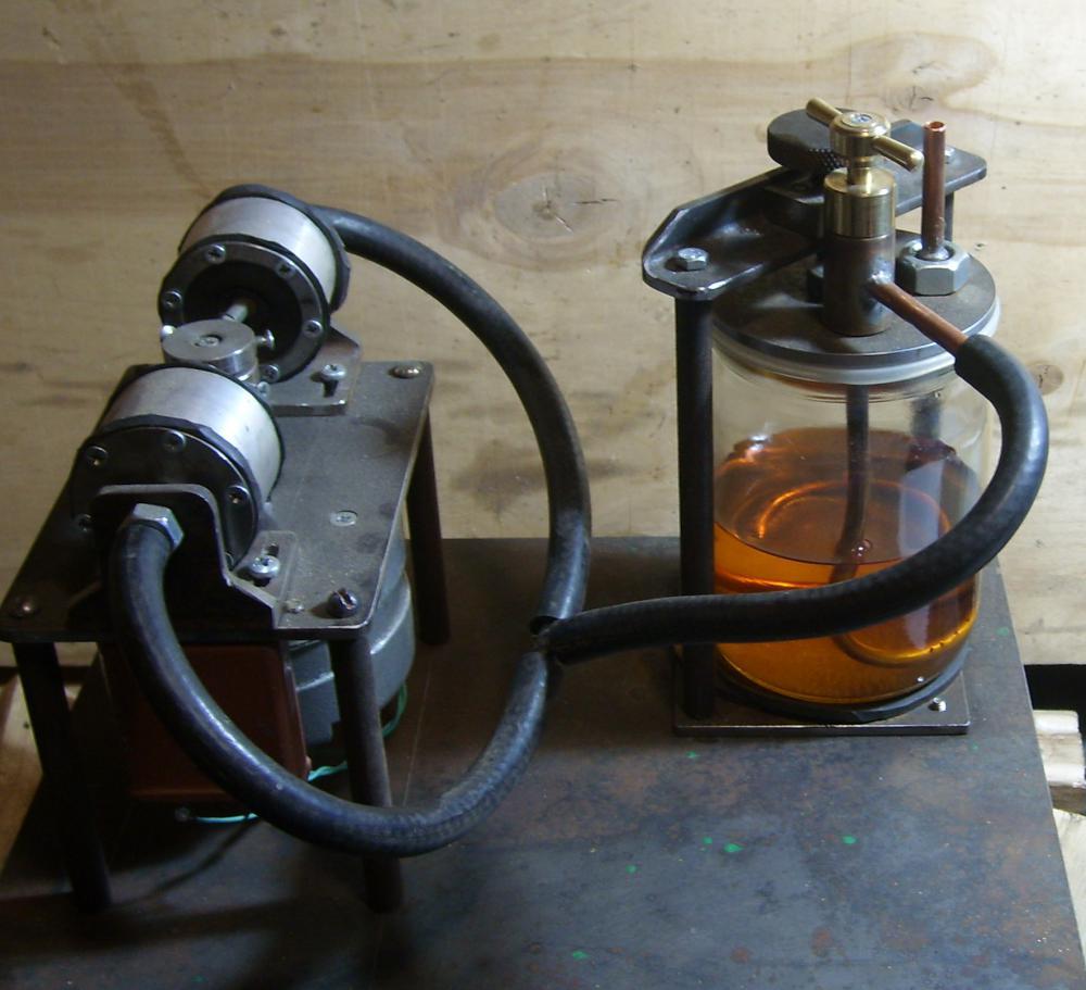 Самодельной бензиновой горелкой