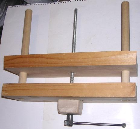 Деревянные тиски для верстака своими руками
