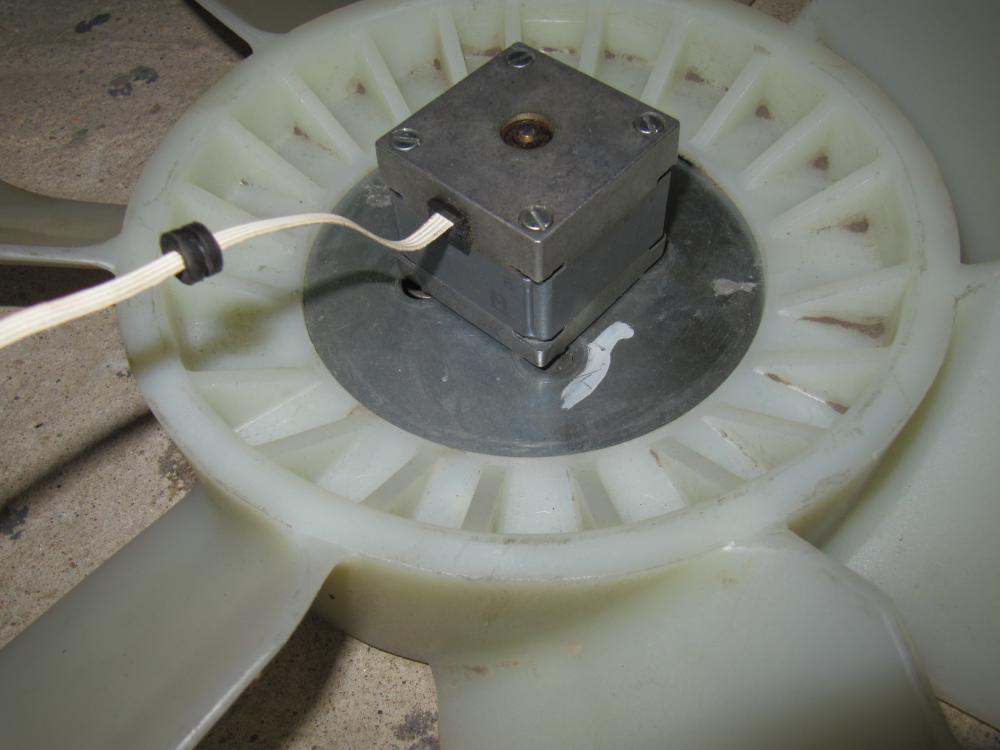 Ветрогенератор из шагового двигателя своими руками 35