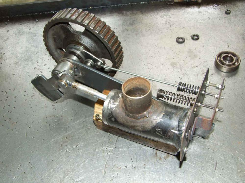 Двигатель вакуумный своими руками 850