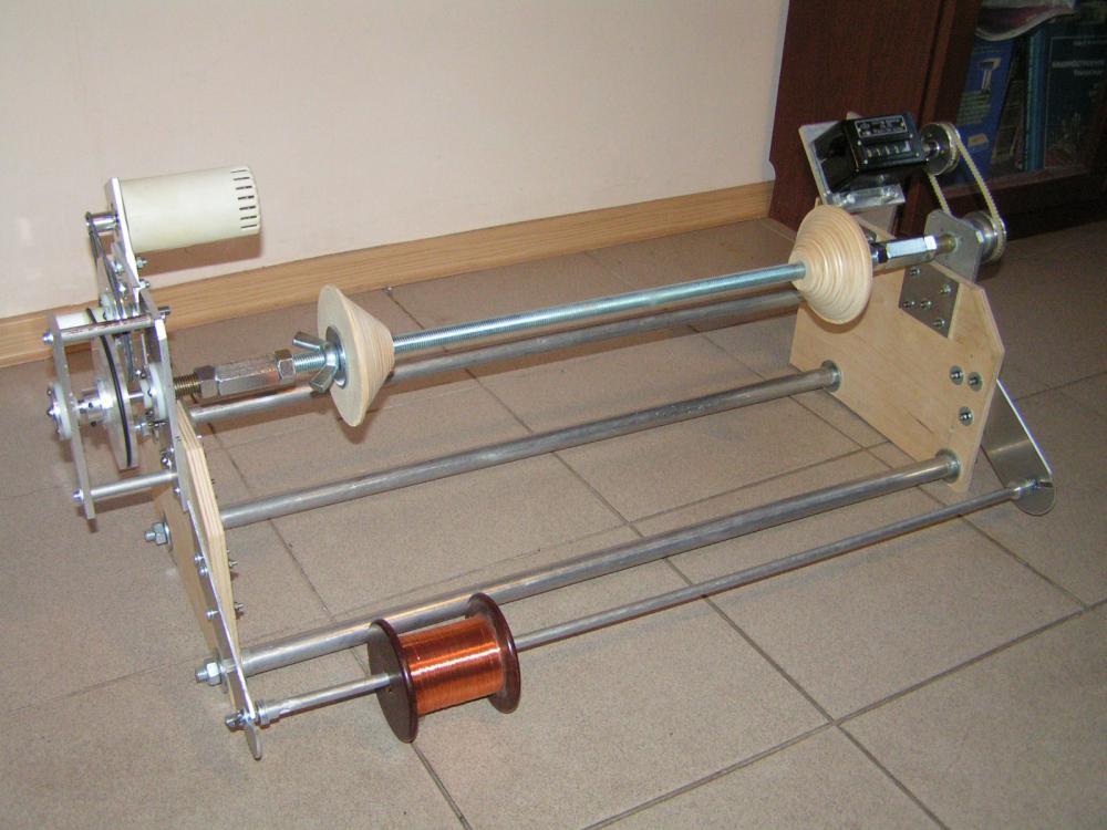 Намоточный станок самодельный трансформатор 129